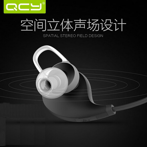 2015 Original New Brand QCY QY8 portable wireless Sport headset bluetooth headphone go pro Ear Phone