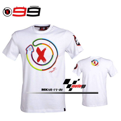 The new MOTOGP99 Lorenzo motorcycle racing suit motorcycle jacket T-shirt<br><br>Aliexpress