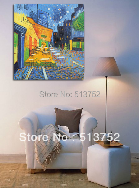 Canvas Art Wall Decor Van Gogh Reproductions Oil Paintings Painted Hand Great Present - World Painting Factory store