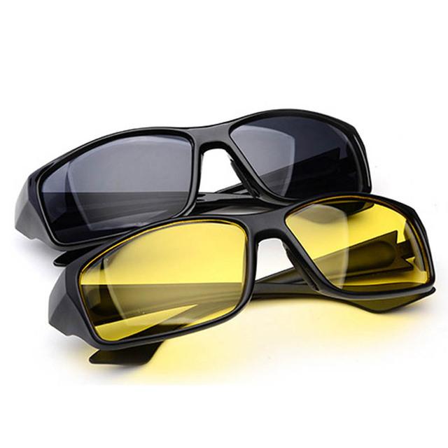 Новых Людей Прибытия Солнцезащитные Очки мужчины Марка Дизайнер Ночного Вождения ...