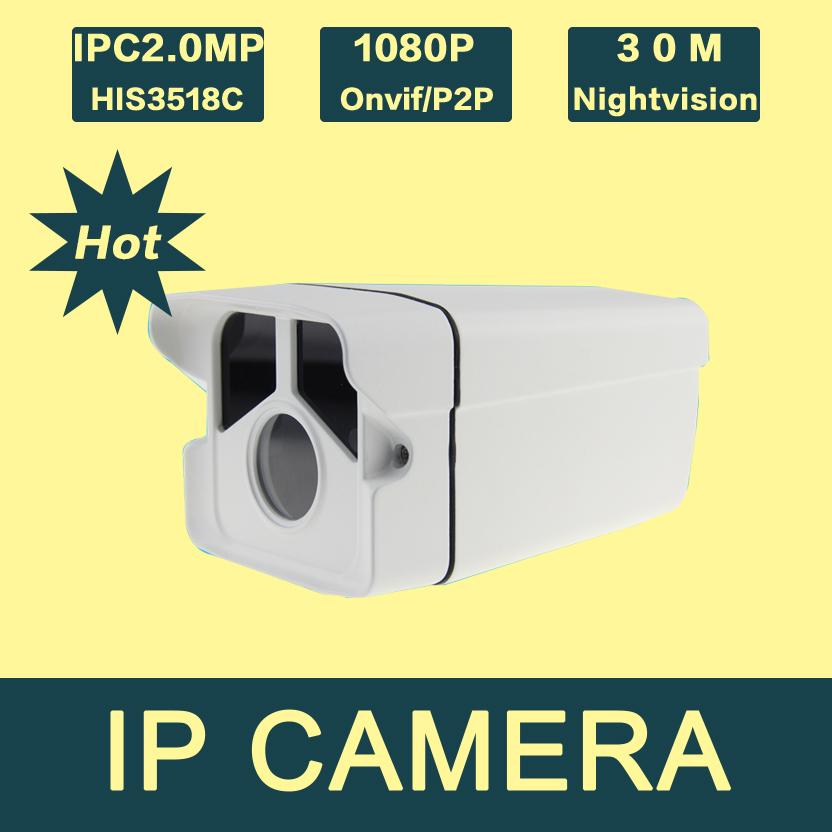 IP2200PB-B3 Office Surveillance Camera H.264 1080P full HD Netwrk  Outdoor IP Camera 2.0mp Night Vision IR Cut Array LED<br>