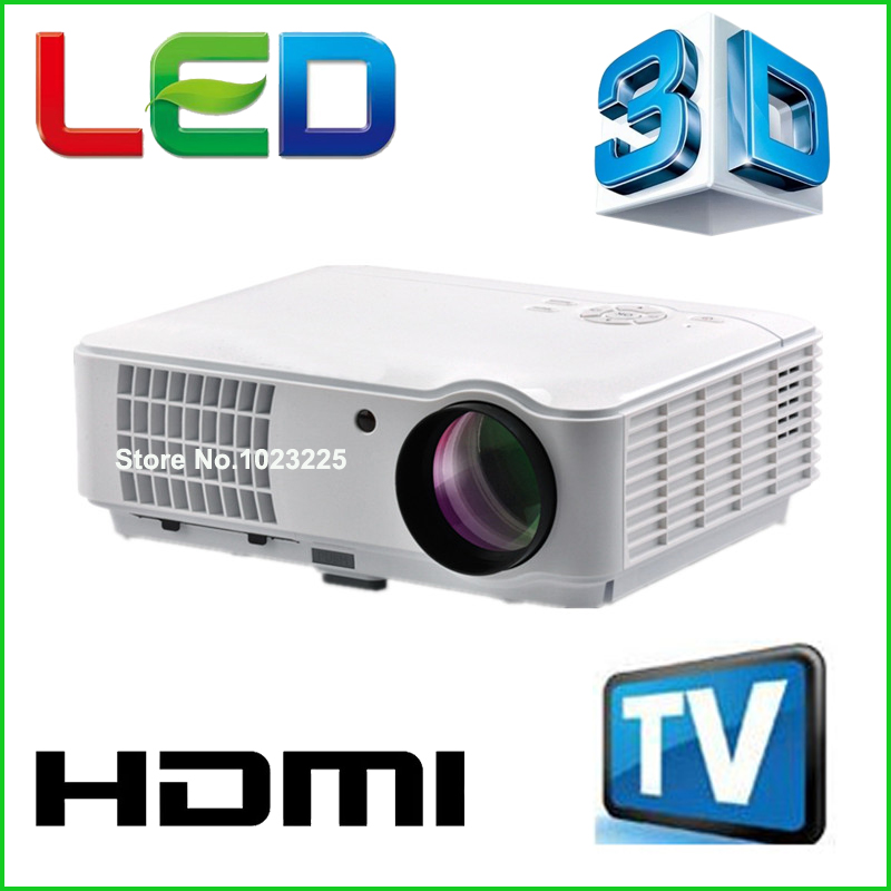 5500 Lumens Smart Lcd Tv Led Projector Full Hd Support
