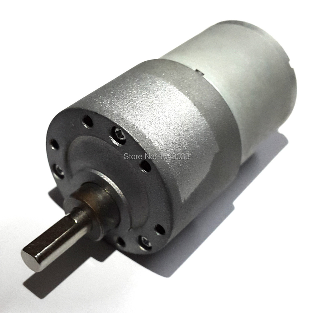 Dc 24v Motor 37gb 37mm 150rpm High Powered Torque 12kg Cm