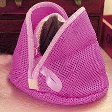 Novel design Women Bra Laundry Lingerie Washing Hosiery Saver Protect Mesh Small Bag drop shipping(China (Mainland))