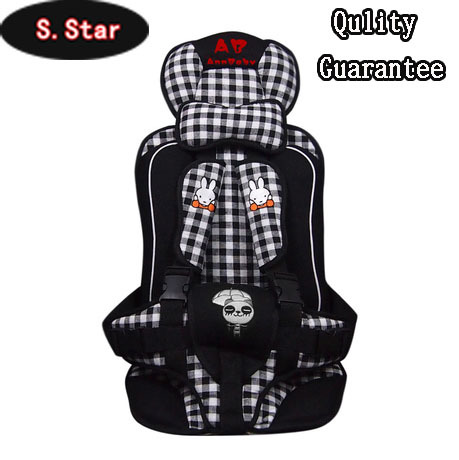 Car child safety seat baby car cushion portable cover - Sparkle Star Super Market store