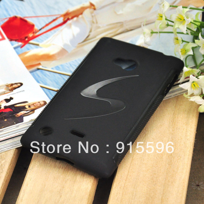 Soft TPU Case For Nokia Lumia 720 N720 Cell Phone Cover S wave Anti-skid Phone cases 4 Colors Free Shipping(China (Mainland))