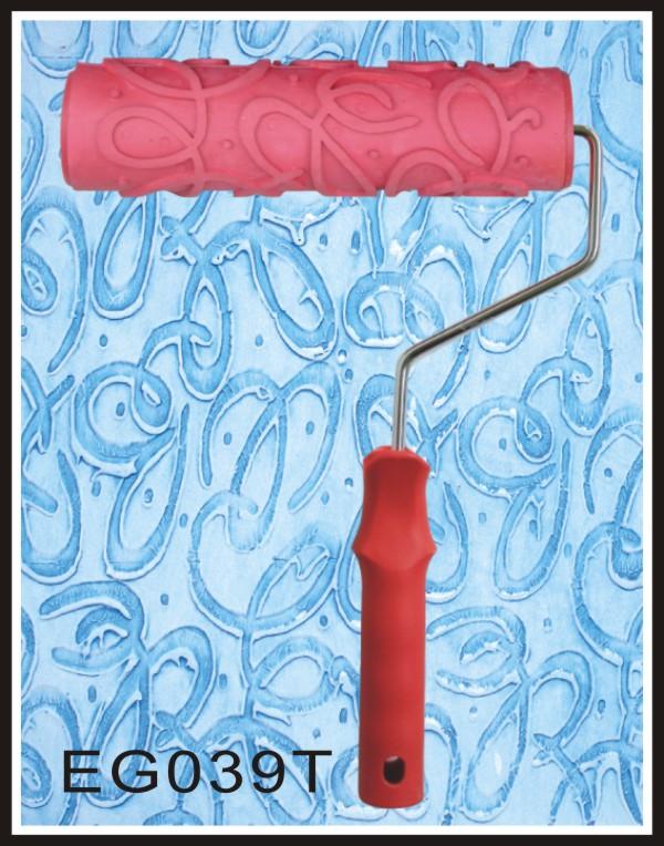 039 liquid wallpaper print roller wall print tools decorative pattern roller liquid wallpaper paint mould<br><br>Aliexpress