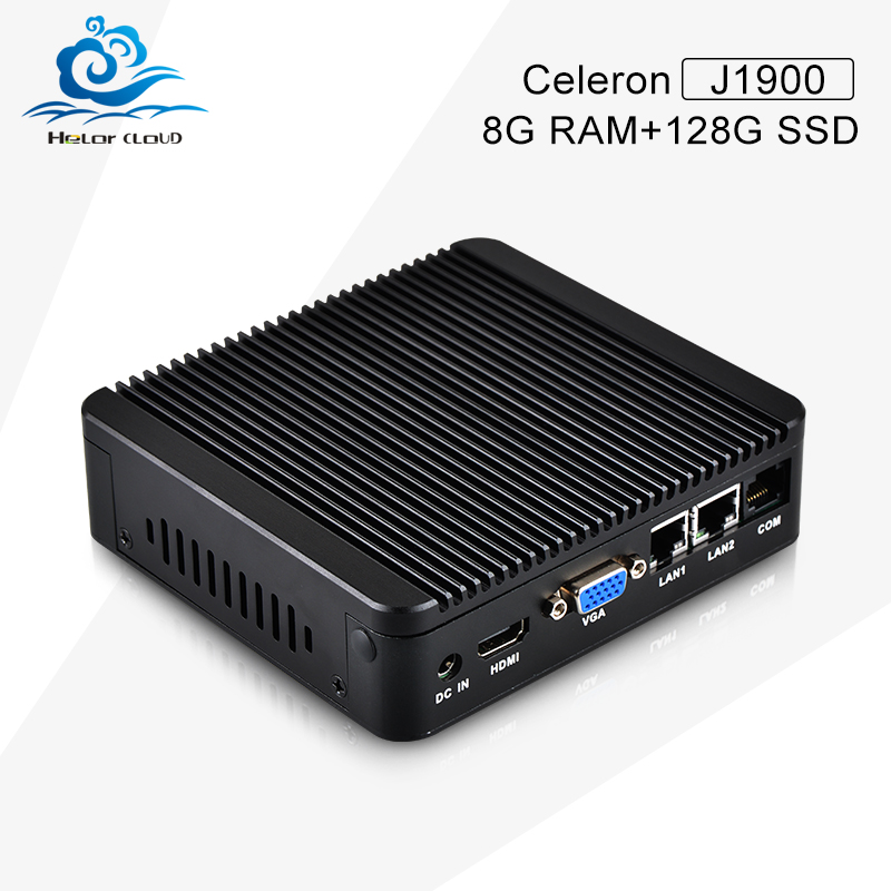 HLY Mini PC Computer Celeron J1900 Quad-core 2.0GHz Thin Client with 8G Memory and 128G Hard Disk Mini Embedded PC<br><br>Aliexpress