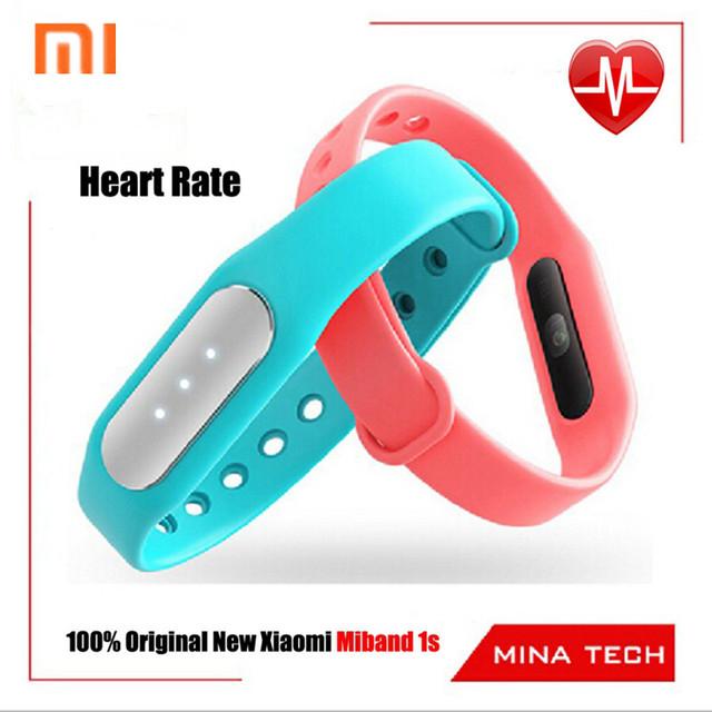 Оригинальный новый сердечного ритма Xiaomi miBand 1 s ми группа чувство версия новый импульс лучше группа / ми-ни фиксированной n зарядное устройство в наличии