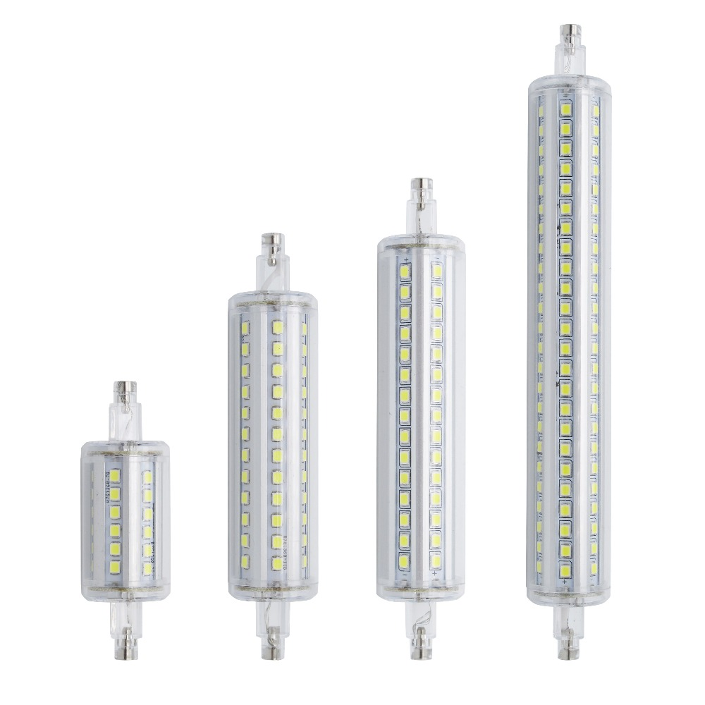 Lamparas Dimmable R7S LED Corn 78mm 118mm 135mm 189mm Light 2835 SMD Bulb 7W 14W 20W 25W Replace Halogen Lamp Bombillas(China (Mainland))