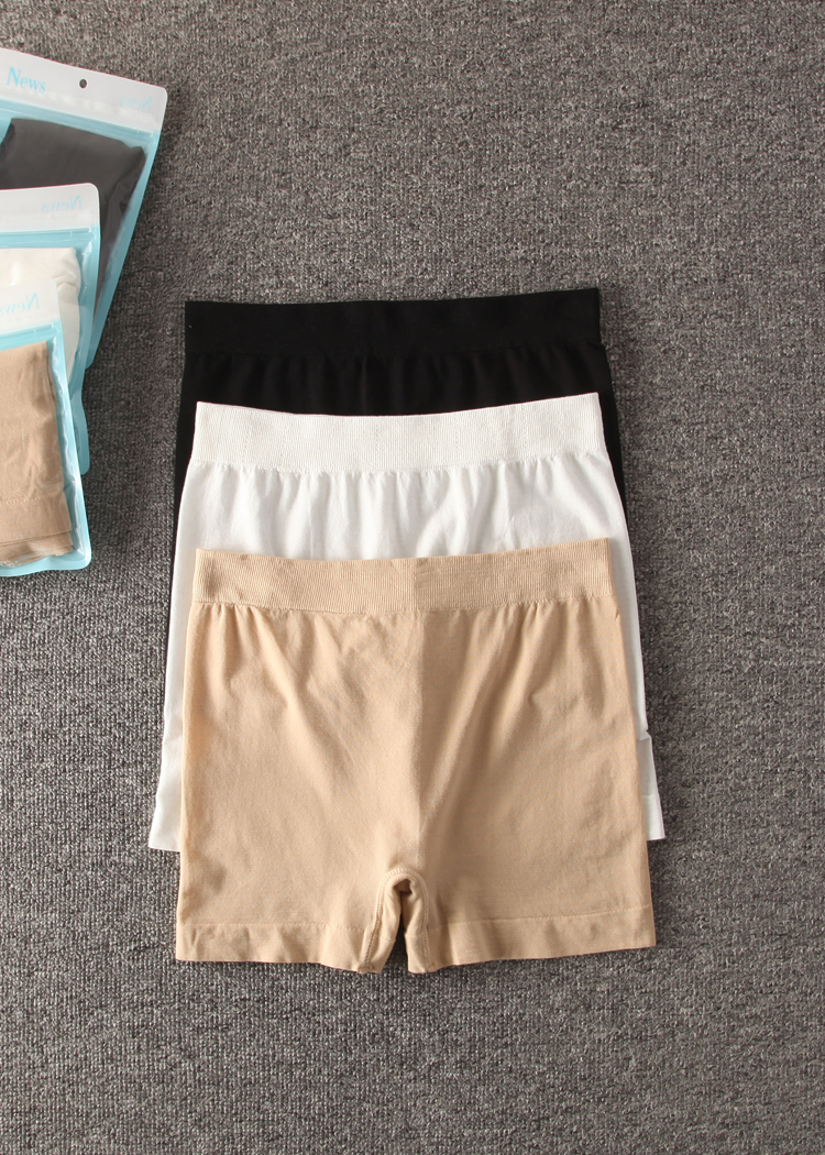 [wiki's store]Ladies summer Bamboo Boxer Shorts Safe Pants Boyshort Underwear for Women 3 pieces a lot