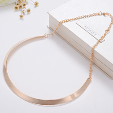 bijoux collier femme 2015 Fashion Summer Style gold Collar Choker Necklace Women trendy chocker collares jewelry free shipping(China (Mainland))