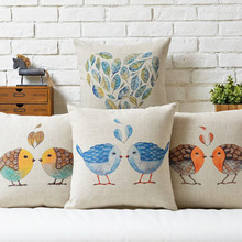 cute cartoon birds,animal cotton pillow cushion