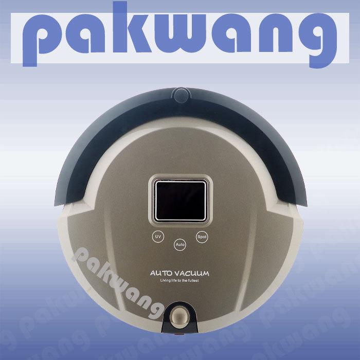 NEW fashion home vacuum cleaner ,intelligent vacuum cleaner bagless robot vacuum(China (Mainland))