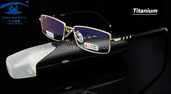 Brand Reading Glasses Men  Titanium in Golden Color with case in+1.00,+1.50,+2.00,+2.50,+3.00,+3.50,+4.00Одежда и ак�е��уары<br><br><br>Aliexpress