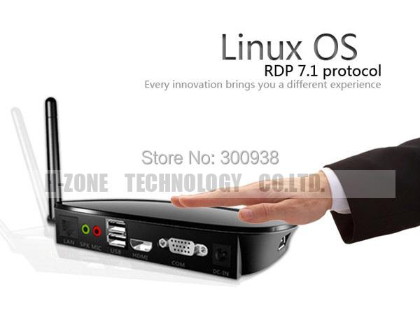 Wireless FL300W Thin Client Cloud Terminals Flash 1080P HDMI RDP 7.0 Dual Core 512M RAM 512M ARM-A9 Mini PC Station Free Shiping(Hong Kong)