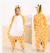 High Quality Newest Winter Pajamas Flannel Pyjama Sets Anime Cosplay onesie Unisex Adult Onesie Sleepwear Stitch/Pikachu/Lemur