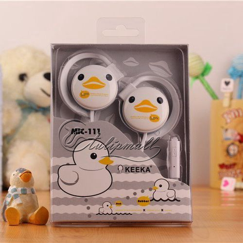 Lovely Cartoon Headphone Ear Hook Earphones Wholesale 100pcs\lot Headset for MP3 Cellphone PC Bass High Quality Free Shipping(China (Mainland))