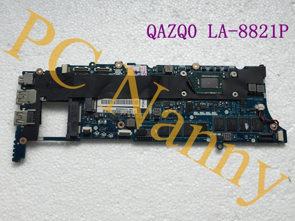 QAZA0 LA-8821P Laptop motherboard for Dell XPS 12 hm75 With I7-3537U CPU on board High Quality(China (Mainland))