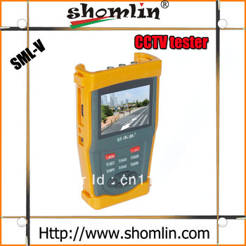 """3.5"""" TFT LCD Video Wrist Monitor CCTV Tester Security Camera Resolution 960 * 240+12V Output AT-1000 Support OEM CCTV tester"""