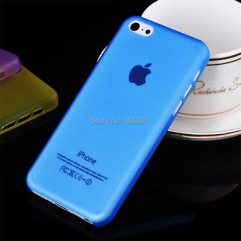 Blue 0.3MM Ultra Thin Slim Matte Apple iPhone 5C Cover Case Moblie Phone Protection Shell - ITECH TRADING STORE store