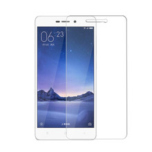 For Xiaomi Redmi 3S Tempered Glass Film High Quality Screen Protector Glass Film For Xiaomi hongmi 3 s 3pro Cellphone In Stock