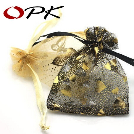 OPK Brand Multicolor Silk Packing Bags 50PCS/LOT Fashion Jewelry Package Punches 203
