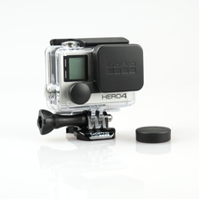 New GoPro Hero 4 3+ Plus Camera Lens Cover And Housing Protective Cap Waterproof Kit For Gopro Hero Action Camera Accessories