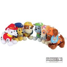 "6pcs/set Children present US cartoon Puppy Dog pet 8"" Ryder Marshall Rubble Chase Rocky Zuma Skye Firemen Stuffed Toy soft plush(China (Mainland))"