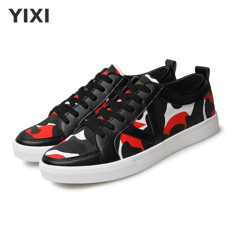 Mens Shoes Casual Pu Camouflage Breathable Zapatillas Hombre Flats Summer Shoes Men Chaussure Homme Sneakers Men Fashion Xfj1651(China (Mainland))