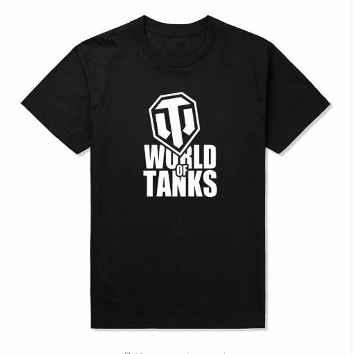 Tanks T-Shirt Men's WOT World of Tanks T Shirt 100% Cotton Short Sleeve Round Neck Tops Tees Game Summer Weapon Man Woman Tshirt