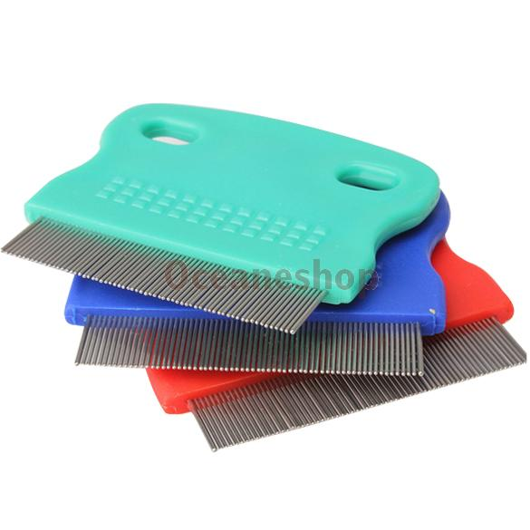 New Pet Fine toothed Comb Cat Dog Grooming Steel Small AU(China (Mainland))