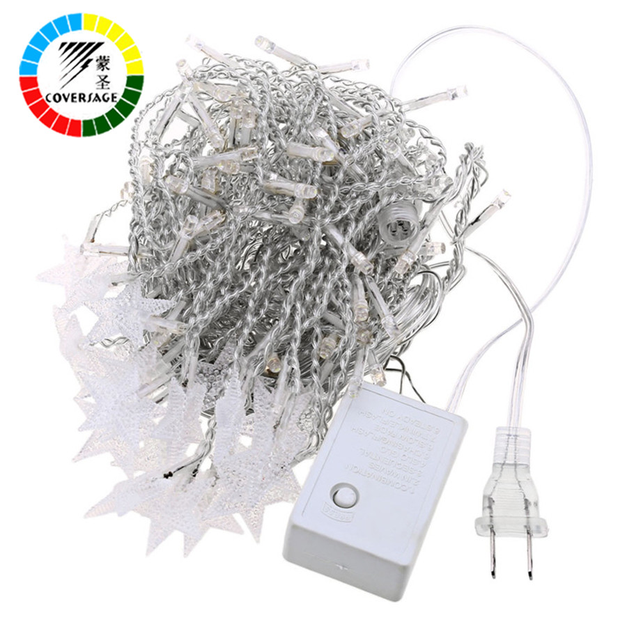 Coversage 100Leds 10M Christmas Outdoor Fairy String Lights Garden Luces Led Navidad Indoor Curtain String Decorative Lights(China (Mainland))