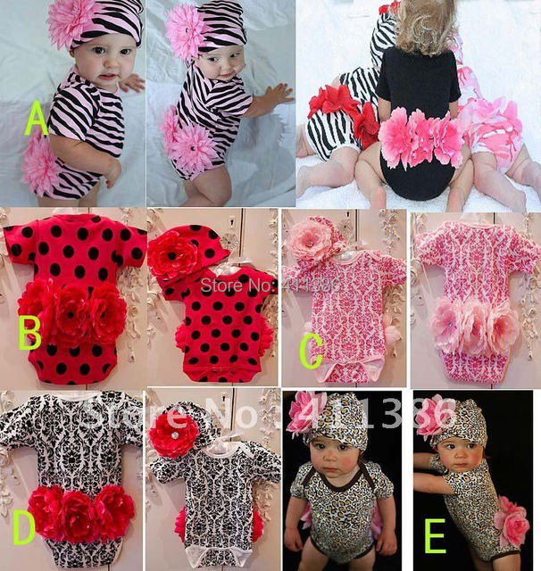 B-0056 4 sets/lot,2012 new design lace bow sling Baby Girl suit sets,Infant clothing set(rompers+hat),Kids clothes set wholesale