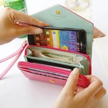 Fashion Women Wallets Ladies Purse Bag Colorful Coin Purse Portfolio Female Carteira Feminina Cell Phone Pocket 10kinds of color