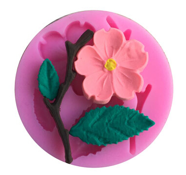 1PCS The Flowers Shape For Silicone Cake Mold, Fondant Cake Tools, Jelly, Candy, Chocolate Molds G167(China (Mainland))
