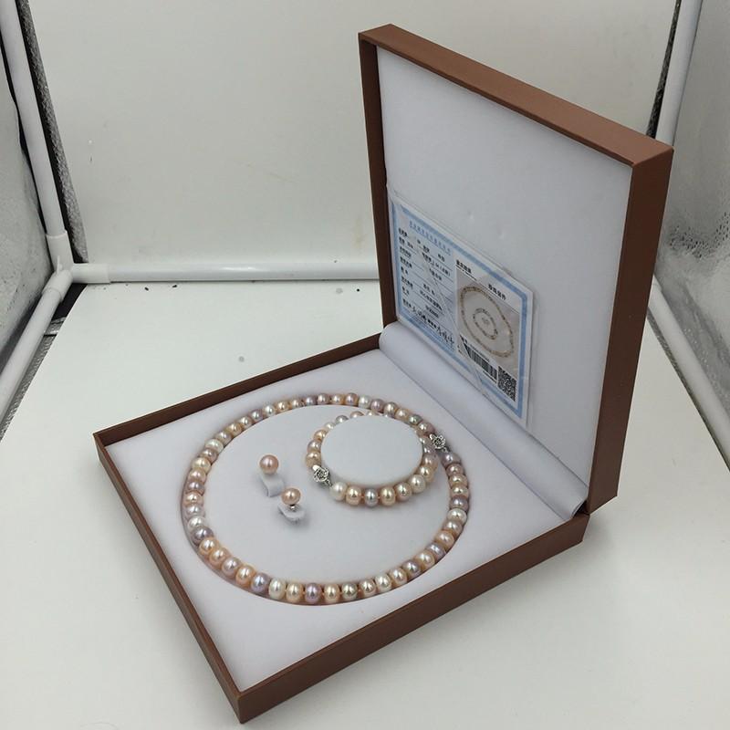 Sinya natural freshwater pearls jewlery set  (7)