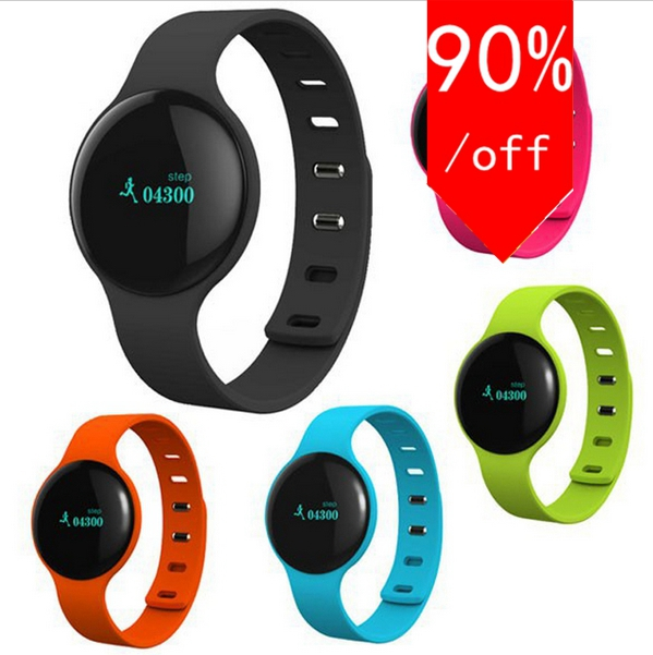 Wearable Tracker Smart Bracelet Bluetooth Sport Watch with Pedometer Sleep Monitor Smart Band Wristband for IOS Android Phone(China (Mainland))