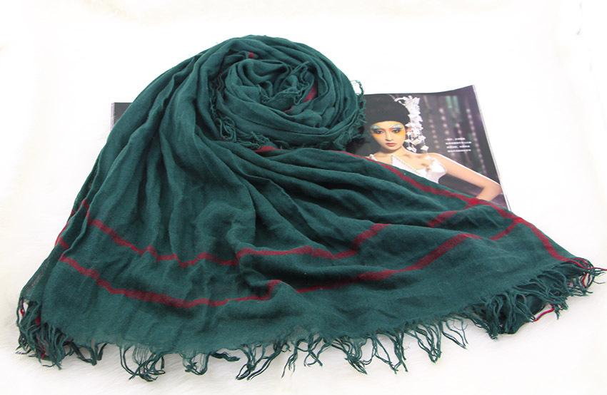 2015NEW!Fashion Desigual Solid Color Plaid Scarf New Designer Unisex Cotton Scarves Muslim  Hijab Soft Wrap 90CM*200CM a013(China (Mainland))