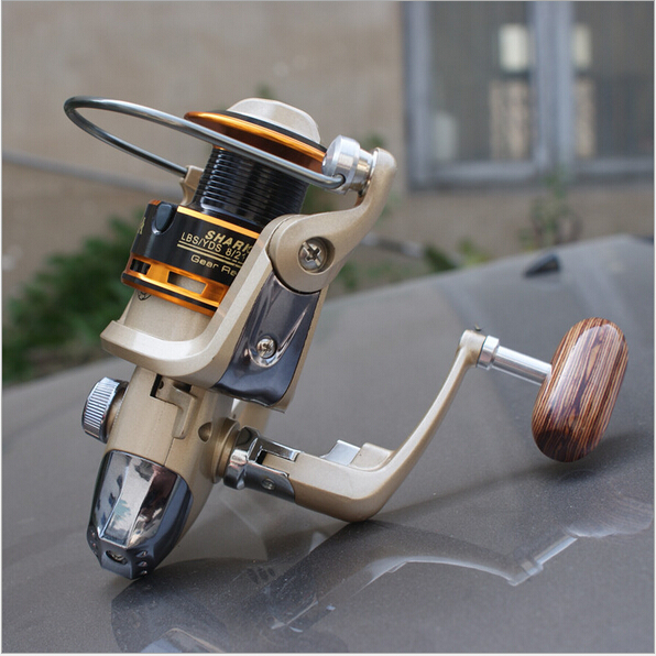 Free shipping fishing reel FLY lure reel 5.1:1 8BB spinning reel alloy reel(China (Mainland))