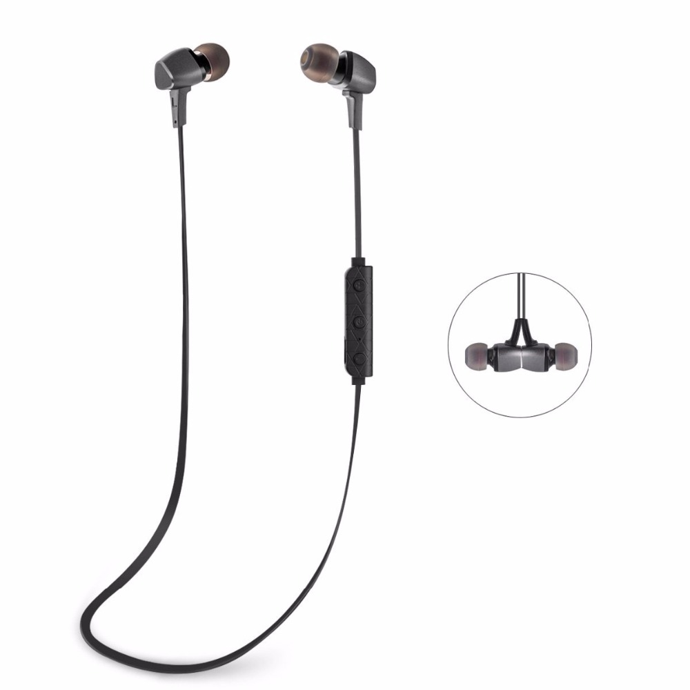 sports bluetooth earphone wireless running headset with mic stereo in ear earbuds for smart. Black Bedroom Furniture Sets. Home Design Ideas