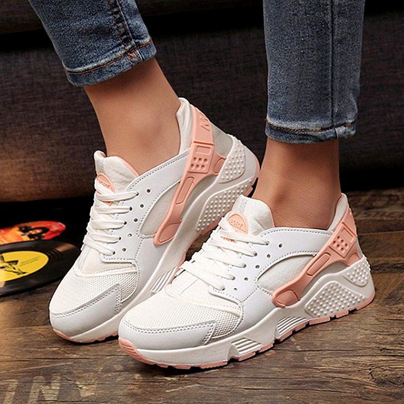 2016 Grils Fashion Canvas Shoes Women Air Mesh Trainers Casual Shoes Ladies Wedges Tenis Feminino Chaussure Femme No Logo(China (Mainland))