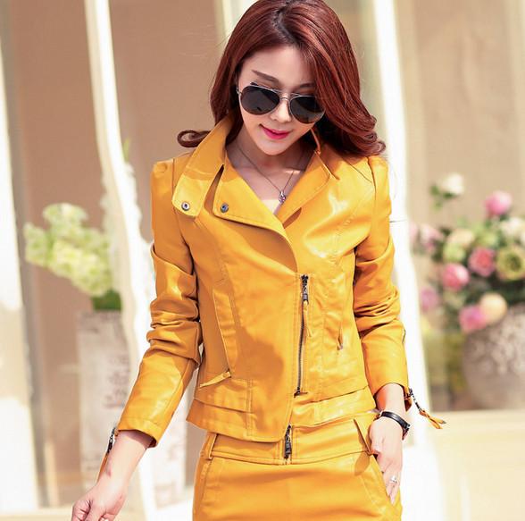 Женская одежда из кожи и замши Leather jacket women Shop 2015 Jaqueta Couro s/xxxl 623 женская куртка new brand s xxxxl 2015 feminino jaqueta couro 380