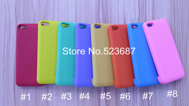 HK Free shipping 2200mAh Power Bank External Backup Battery Charger Case for iPhone5,8 colors for choosing,wholesale price