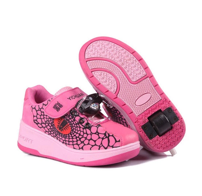 Children popular roller shoes boys girls sneakers size 31-41 kids skate - Sunrise for you Store store