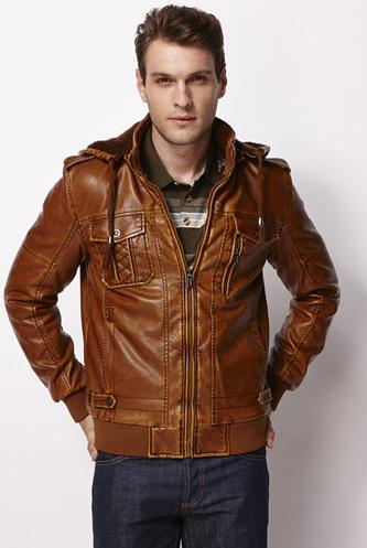 2014 New Men's Suit Warm PU Leather Jacket Man Products Mens Fashion Slim Jackets Men 3 Color Plus Size L-XXXL - Vogue Anmi Garments Store store