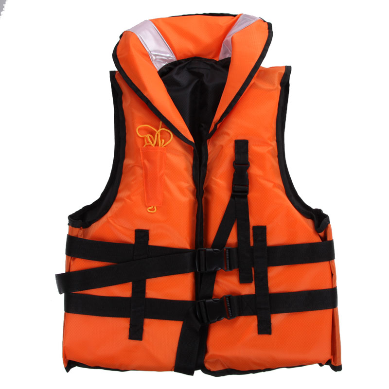 2017 Newest Adult Life Jacket Vest With Survival Whistle Water Sport Foam Life Jackets For Drift Boating kayak Upstream Surfing(China (Mainland))