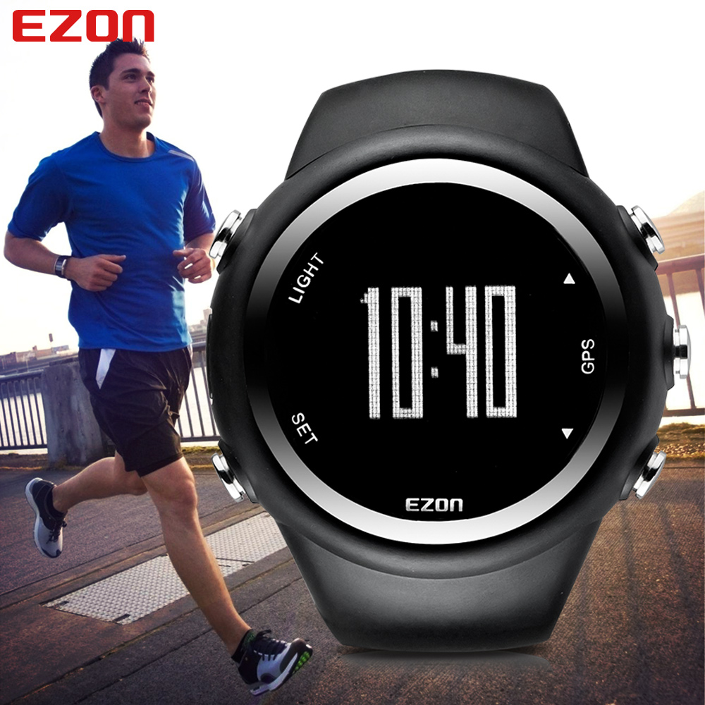 compare prices on gps running watches online shopping buy low ezon gps timing running watch outdoor sport multifunction watches fitness distance speed calories counter waterproof watch