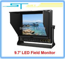 2pcs/lot Lilliput 9.7″ LED Field Monitor with HDMI YPbPr Audio Input Dual HDMI input for RC drone Quadcopter FPV Free s Toy kids