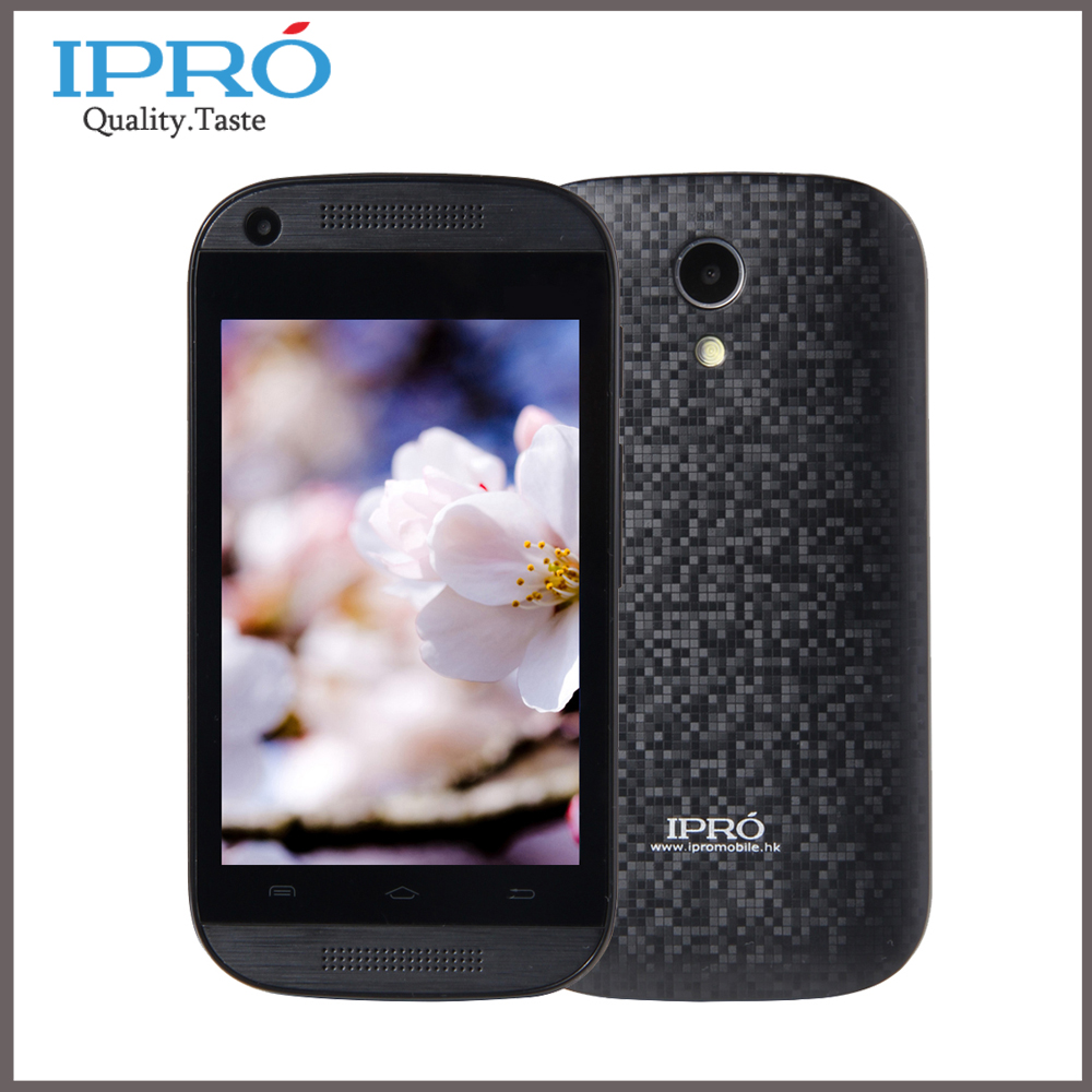 Original IPRO Celular Android 4.4 Smartphone 3.5'' MTK6571 Dual Core Mobile Phone 512RAM 4G ROM Unlocked Cell Phones Russian(China (Mainland))